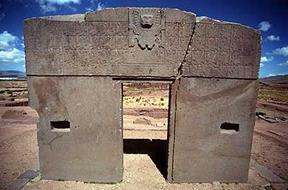 Gate of the Sun Calendar - Tianhuanaco, Bolivia