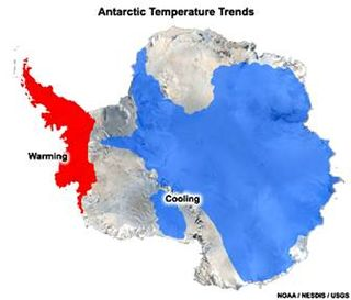 The Antarctic Hot Spot