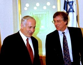 Dennis Ross and Benyamin Netanyahu