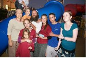 Yitzhak and Talia Imas and their Six Children