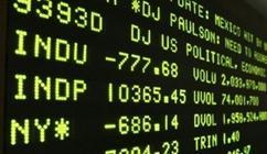 Wall Street Billboard crash 777 points