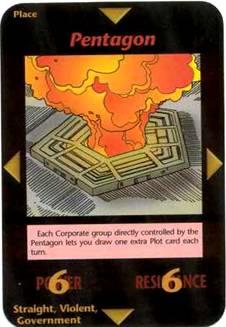 1995 Tarot Card Terrorist Attack Pentagon