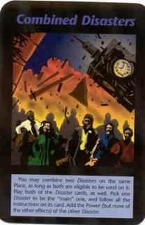 1995 Tarot Card Combined Terrorist Events
