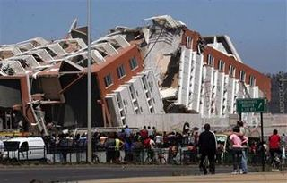 2010 Magnitude 8.8 Earthquake in Chile