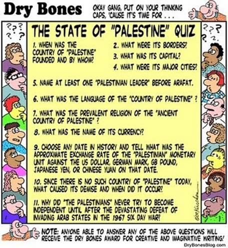 Dry Bones - Palestinian State