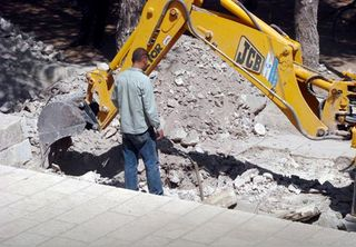 Jewish Temple Mount destruction by Islamic Digging