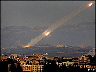 Iranian-Syrian Missile launched from Lebanon upon Israel
