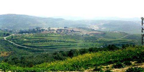 Shomron Region of Israel