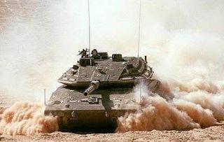 Israeli DF Merkava 4 Tank