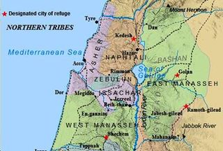 Northern Tribes of Israel