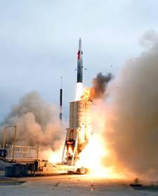 Israeli Arrow II anti-Ballistic Missile System