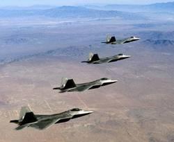 American F-22 Stealth Raptor