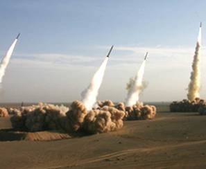 Iranian Ballistic Missiles Launched