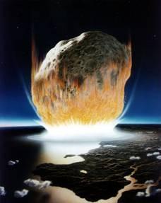Asteroid Impact into an Ocean