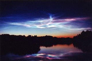 Hydrogen Cyanide laced Noctilucent Clouds
