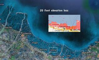 Twenty Foot Submersion on the Java Seashore