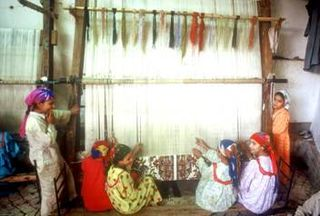 Children Weavers of Cotton Yarn in Egypt