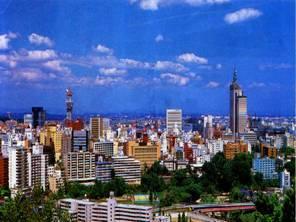 Japanese Port City of Sendai