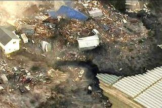 2011 Tsunami Sendai Port