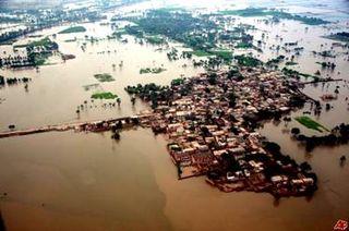 Pakistan Indus River Valley Floods