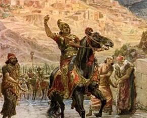 Forces of Sennacherib before the Walls of Jerusalem