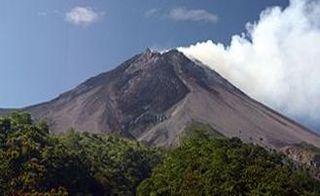 Indonesian Volcano Merapi