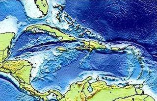 Caribbean Ancient Land Mass