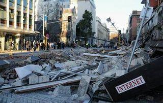 Canterbury Christchurch Earthquake