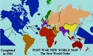1941 New World Order Map