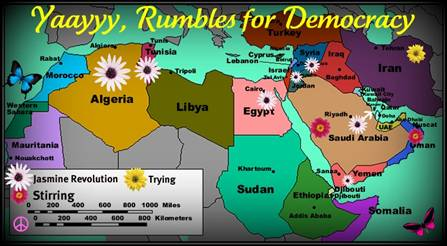 Democratic Uprising in the Middle East