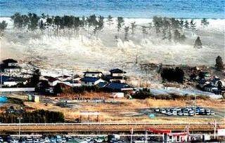 Japanese Tsunami Village of Natori