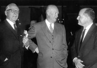 1960 National Prayer Breakfast - Abraham Vereide - President Eisenhower