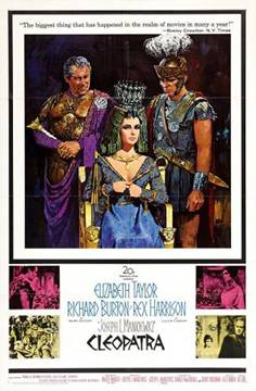 Taylor Burton Cleopatra Poster