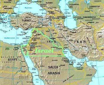 Borders Greater Israel