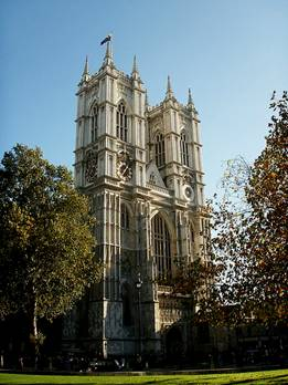 England's Royal Westminster Abbey