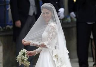 Anglo-Saxon bride Catherine Middleton