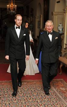 Prince William and father Prince Charles
