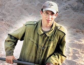 Gilad Shalit kidnapped