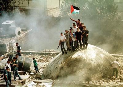 Palestinian destruction Tomb Joseph