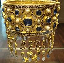 Hanging Votive Crown of Visigoth King Recceswinth