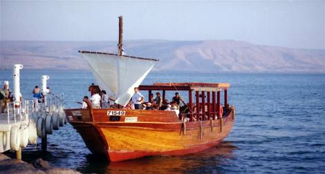 Boating on the Sea of Galilee
