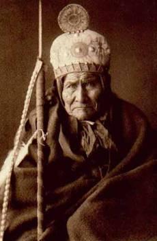 Apache-Israelite prophet Geronimo