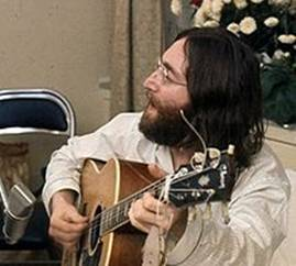 Lennon rehearses Give Peace a Chance