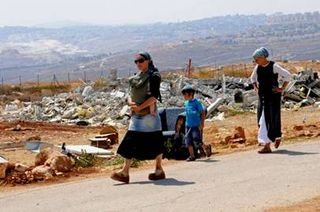 Demolished Home of Jewish Patriots