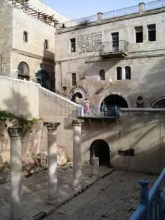 Jerusalem Headquarters of the Chabad-Lubavitch Jews