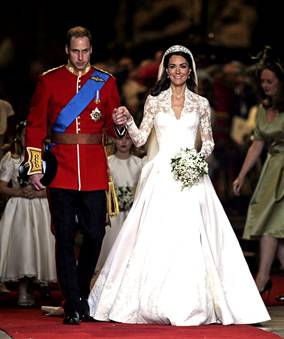 Duke William and wife, Duchess Catherine