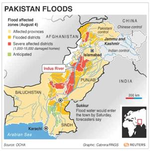 Pakistan's Flooding 2010