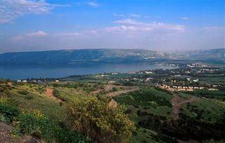 The Sea of Galilee (Lake Kinneret)