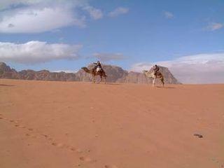 Desert in the Land of Jordan