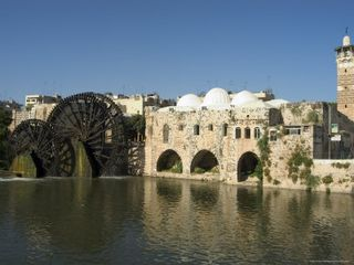 Orontes River Mosque Water Wheel